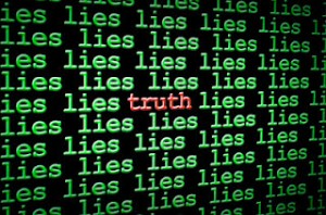 truth among the lies