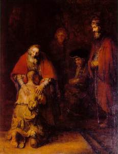 Rembrandt, The Return of the Prodigal Son, 1662–1669